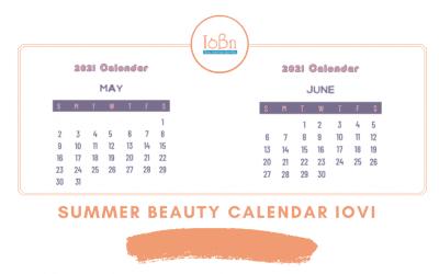 Ημερολόγιο Ομορφιάς Ιοβη: Φτιάξε το δικό σου Summer Beauty Calendar 2021!